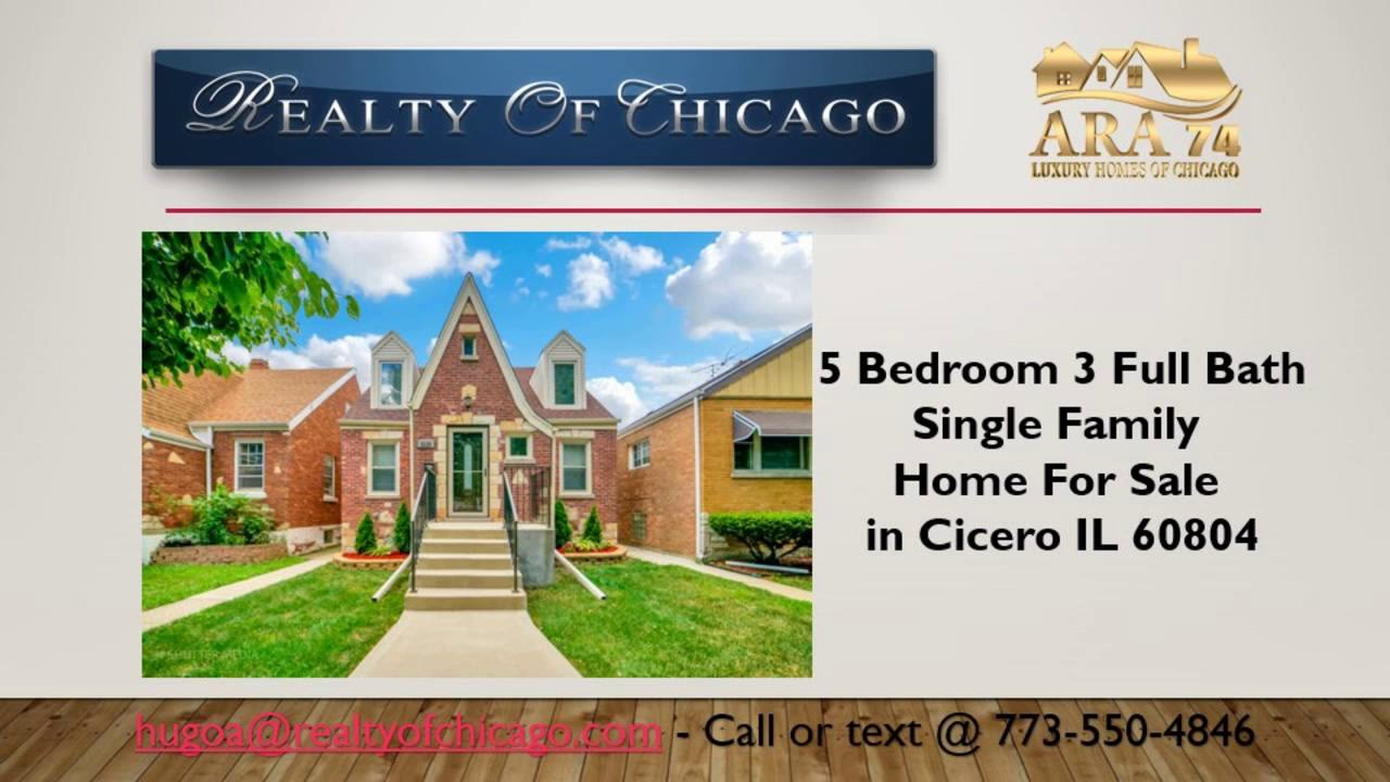 5 bedroom 3 bath houses for sale in cicero il 60804 with cicero rh youtube com