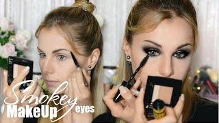 Макияж Смоки Айс | Smokey Eyes MakeUp | Радикальный образ с MAYBELLINE New York(Решила попробовать что-то новенькое, радикальное и дерзкое! Представляю вашему вниманию - Smokey Eyes Вы часто..., 2016-05-27T15:17:43.000Z)