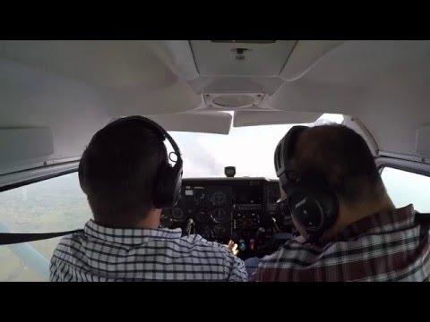 Flight over Hartebeespoort dam from Grand Central Airport (FAGC) in Cessna 172