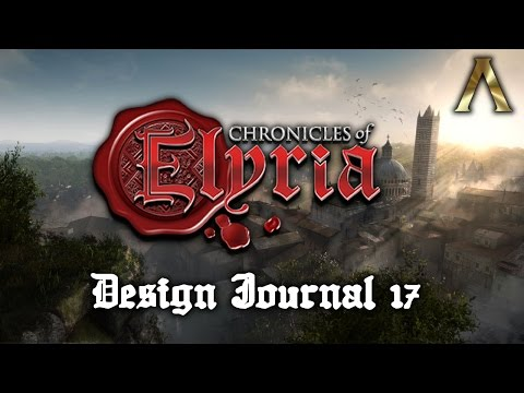 Chronicles of Elyria - Design Journal #17 - Bolstering & Earn-To-Play + Kickstarter Overview