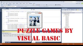How to make puzzle games in Visual Basic