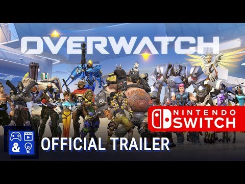 Nintendo has officially announced Overwatch is coming to