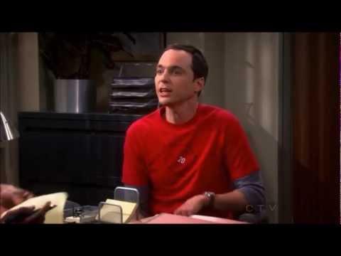 The Big Bang Theory 6x12 - Sheldon at Human Resources Department
