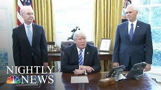 Next On Pres. Donald Trump's Agenda: Tax Reform | NBC Nightly News