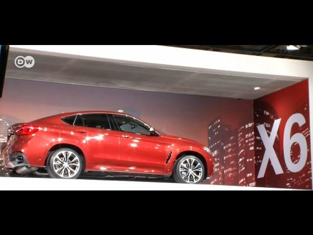Новый BMW X6 проехал мимо Москвы в Париж, или Как автопром .