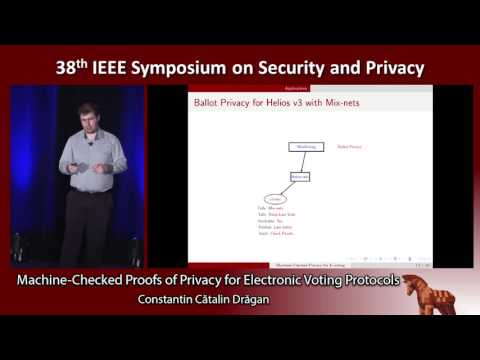 Machine-Checked Proofs of Privacy for Electronic Voting Protocols