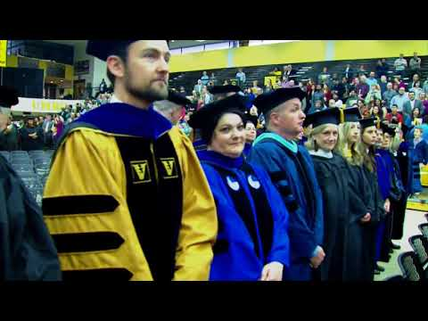 UMBC Winter 2017 Graduate Commencement Ceremony