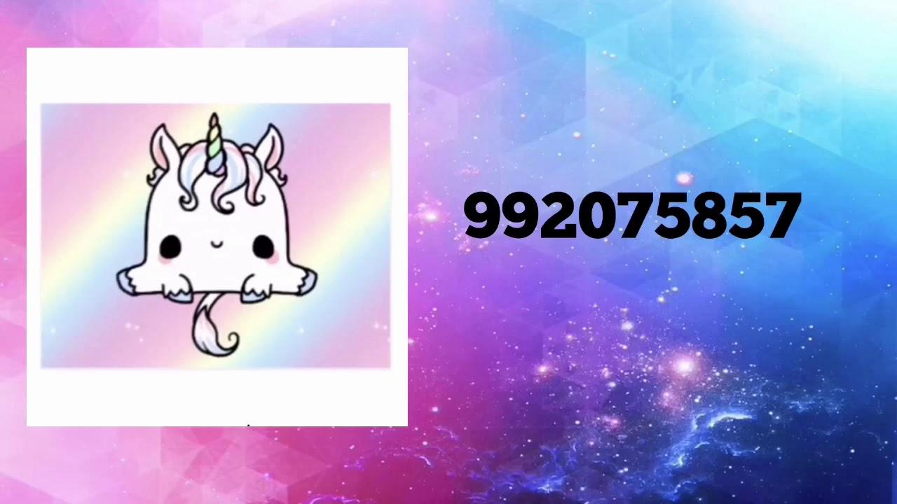 19 Unicorn Decal Id S Roblox Welcome To Bloxburg Youtube