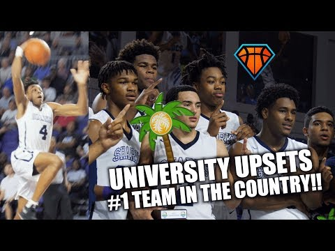 University UPSETS #1 TEAM in the Country for City of Palms Championship!!   Scottie Barnes Wins MVP