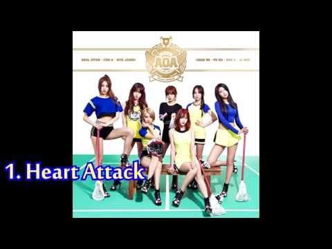 [DL/Full Album] AOA - Heart Attack *3rd Mini Album*