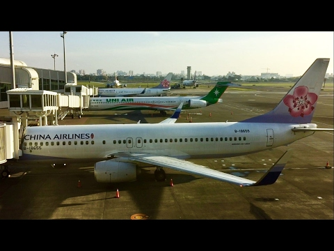 China Airlines B737-800 From Kaohsiung to Manila