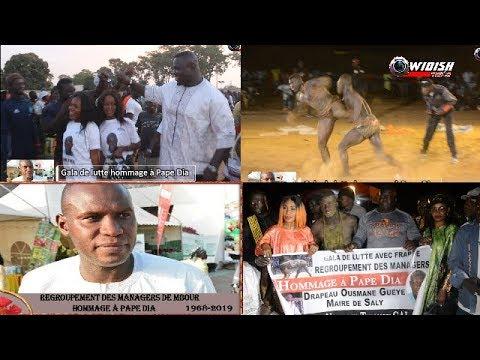 Gala De Lutte Hommage à Pape Dia: Grand Combat Drapeau Ousmane Guéye