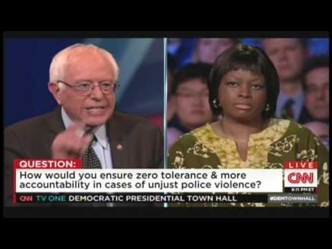 CNN Democratic Presidential Town Hall Columbus Ohio (March 13, 2016)
