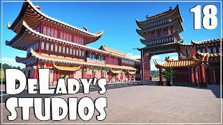 🎬 Building China Town | World's Fair Pack DLC | DeLady's Studios | Planet Coaster | Ep. 18 |