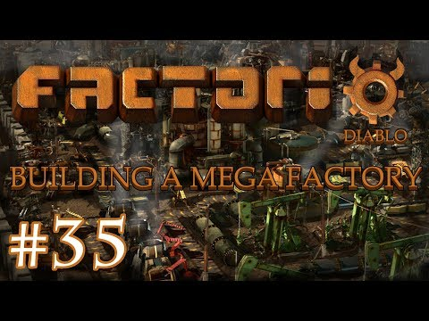 Factorio - Building a Mega Factory: Part 35 getting copper to green chips