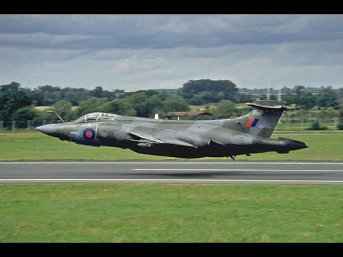 Blackburn Buccaneer last Air display at Cranfield 1993