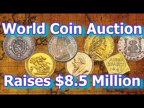 Chicago Hosts $8 Million Rare World Coin Auction