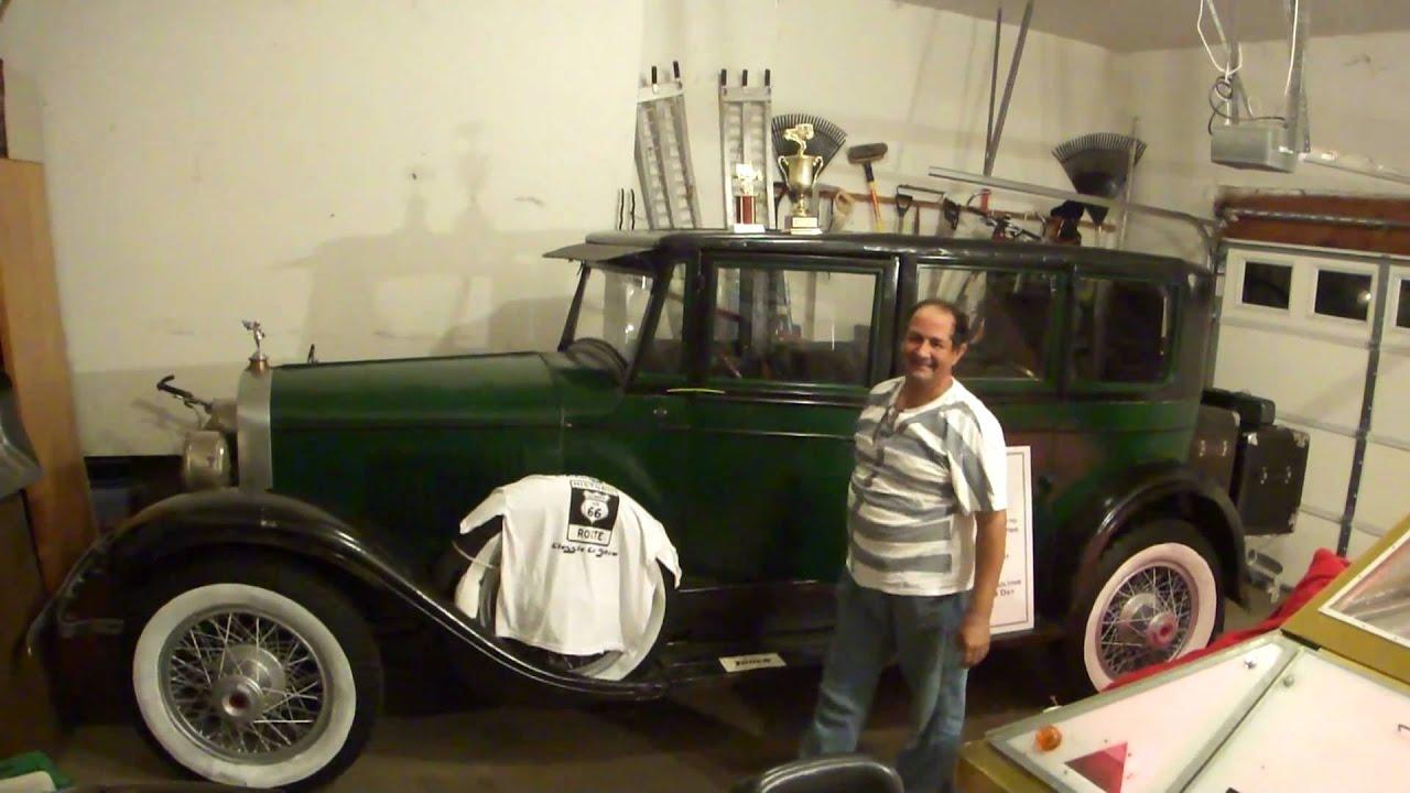 Al Capone's Car Clic 1927 Armored Cadillac Limousine at the ...