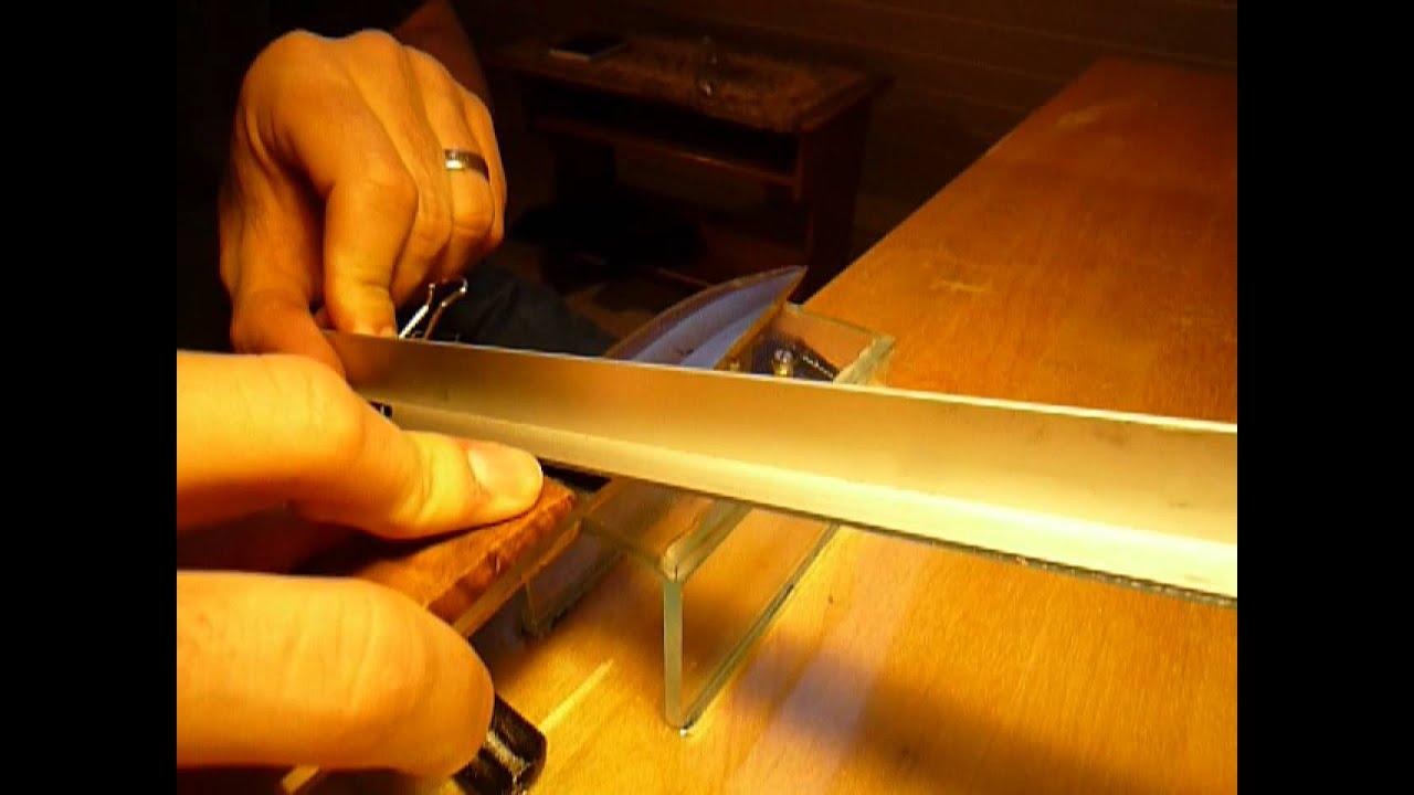 Precision knife sharpening setup diy funnydog tv for Diy dog bathing system