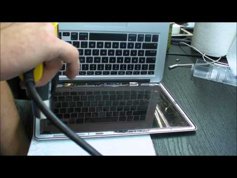 Macbook Air A1369 A1466 screen replacement - New video