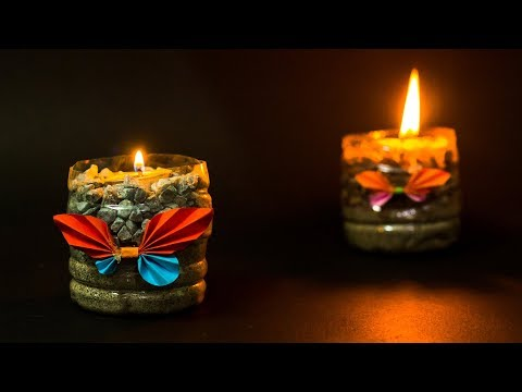 waste-material-craft-ideas-candle-holder