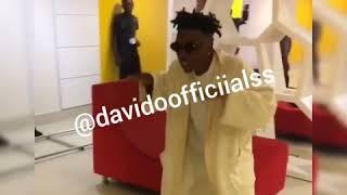 Nigerian Popular Artist,  Mayorkun Dancing To Davido's Song Titled ' NWA BABY '