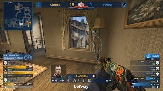 THIS IS UNBELIEVABLE!! - Cloud9 vs Furia - IEM Katowice Major 2019 - CS:GO