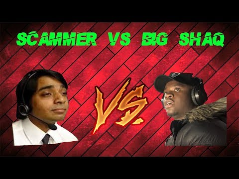 Tech Support Scammers vs BIG SHAQ (Mans Not Hot) Soundboard