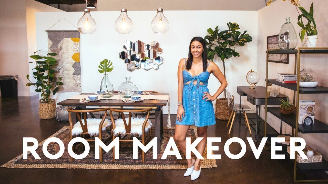EXTREME ROOM MAKEOVER! SMALL SPACES FULL ROOM TRANSFORMATION! & TOUR 2017