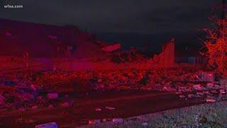 DFW weather: Tornado rips through Dallas business