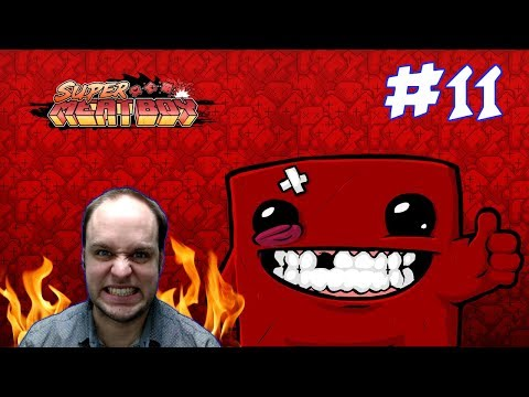 The Most Obnoxious Level of SMB - Super Meat Boy - Gameplay [#11]