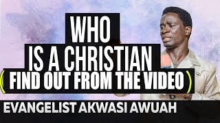 Don't trust anyone by Evangelist Akwasi Awuah