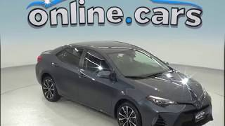 A96947JA Used 2017 Toyota Corolla L FWD 4D Sedan Gray Test Drive, Review, For Sale