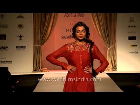 Models In Indian Wear By Hoku Soumitra Mondal Youtube