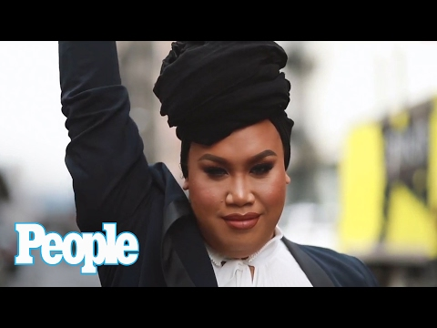 Makeup Artist & Social Media Sensation Patrick Starrr Goes Backstage For NYFW | People NOW | People