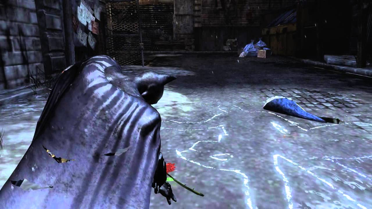 Batman Arkham City Crime Alley Pay Your Respects (HD) - YouTube