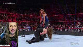 Smackdown Women INVADE Raw