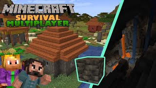 Minecraft Survival Multiplayer ⛏   Mega Cave   1.17 Let's Play   EP03