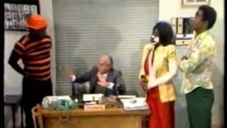 Mussum na delegacia. Os Trapalhões 1994