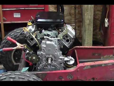 Briggs & Stratton Vanguard First Start (Racing Tractor Engine)  YouTube