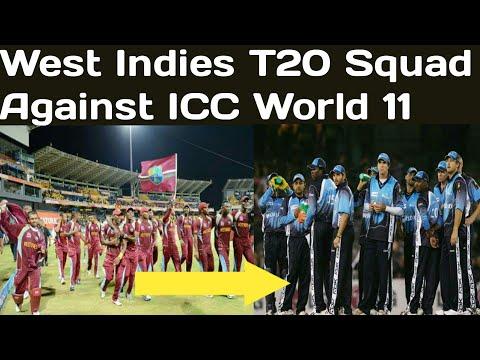 West Indies T20 squad against icc world XI   West Indies vs ICC World XI 2018
