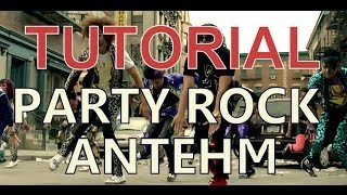 Tutorial de como bailar PARTY ROCK ANTHEM DANCE ROBOT !!