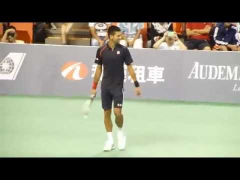 Djokovic qualified for the semifinals