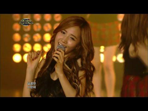 【TVPP】SNSD - Kissing You, 소녀시대 - 키싱 유 @ 2011 SMTOWN in paris Live