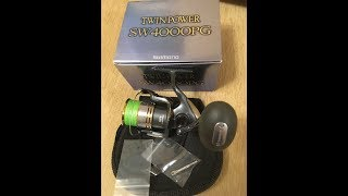 Shimano Twin Power Sw PG модель 2009 года