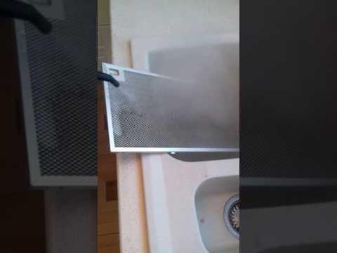 Почистване на филтрите на абсорбатор