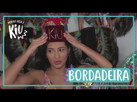 Thay aprende a bordar roupa do Bumba Meu Boi   #41   Minha Vida É Kiu   Thaynara OG e Bianca Klamt