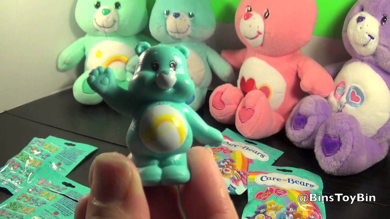 Care Bears Blind Bags Opening Amp Review By Bin S Toy Bin