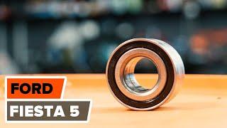 Montering af Hjulleje foran venstre højre FORD FIESTA V (JH_, JD_): gratis video