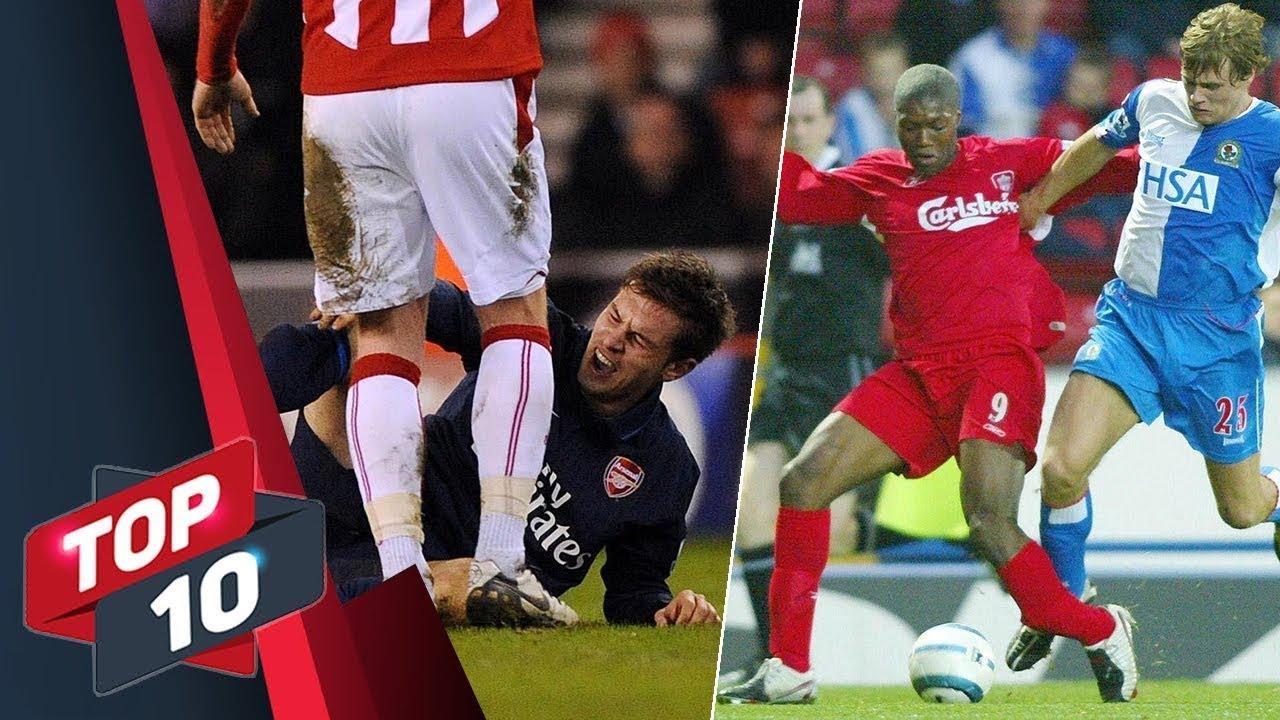 TOP 10+ pha chấn thương kinh hoàng của bóng đá Thế giới